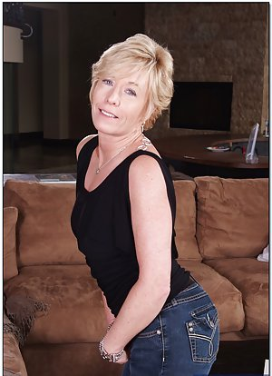 Granny in Jeans Pictures